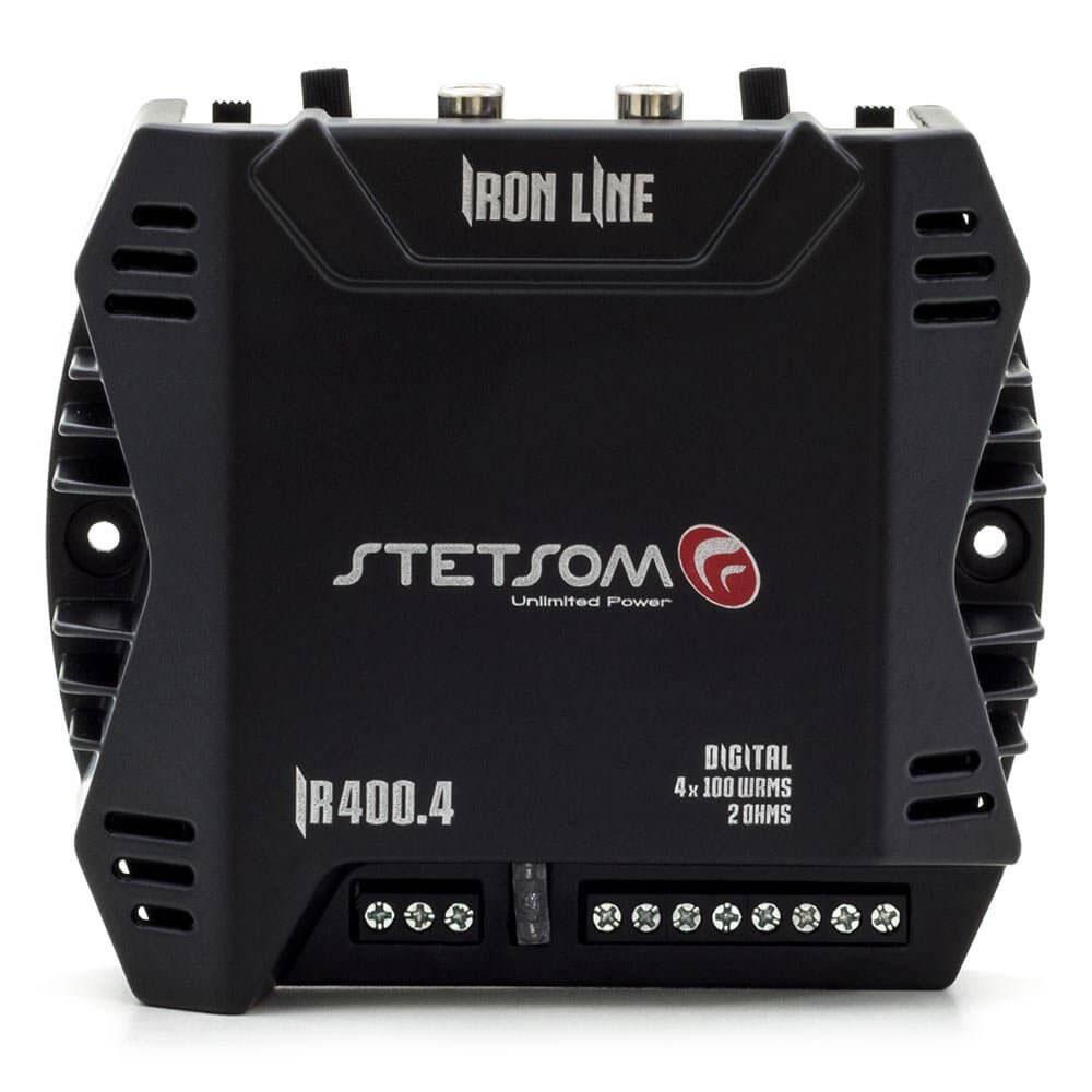 Módulo Amplificador Iron Line Ir 400.4 400w 2 Ohms - Stetsom