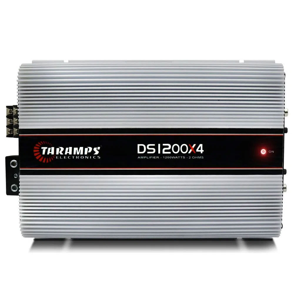Módulo Amplificador Taramps DS1200X4 Digital 1200w Rms 4 Canais 2 Ohms