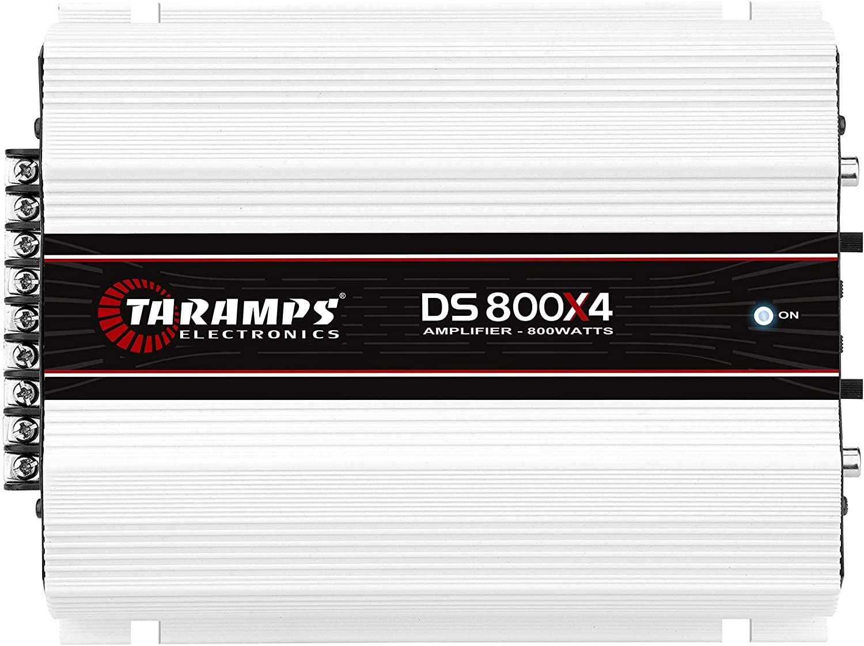 Módulo Amplificador Taramps DS800X4 800Wrms 4 Canais 1 e 2 Ohms