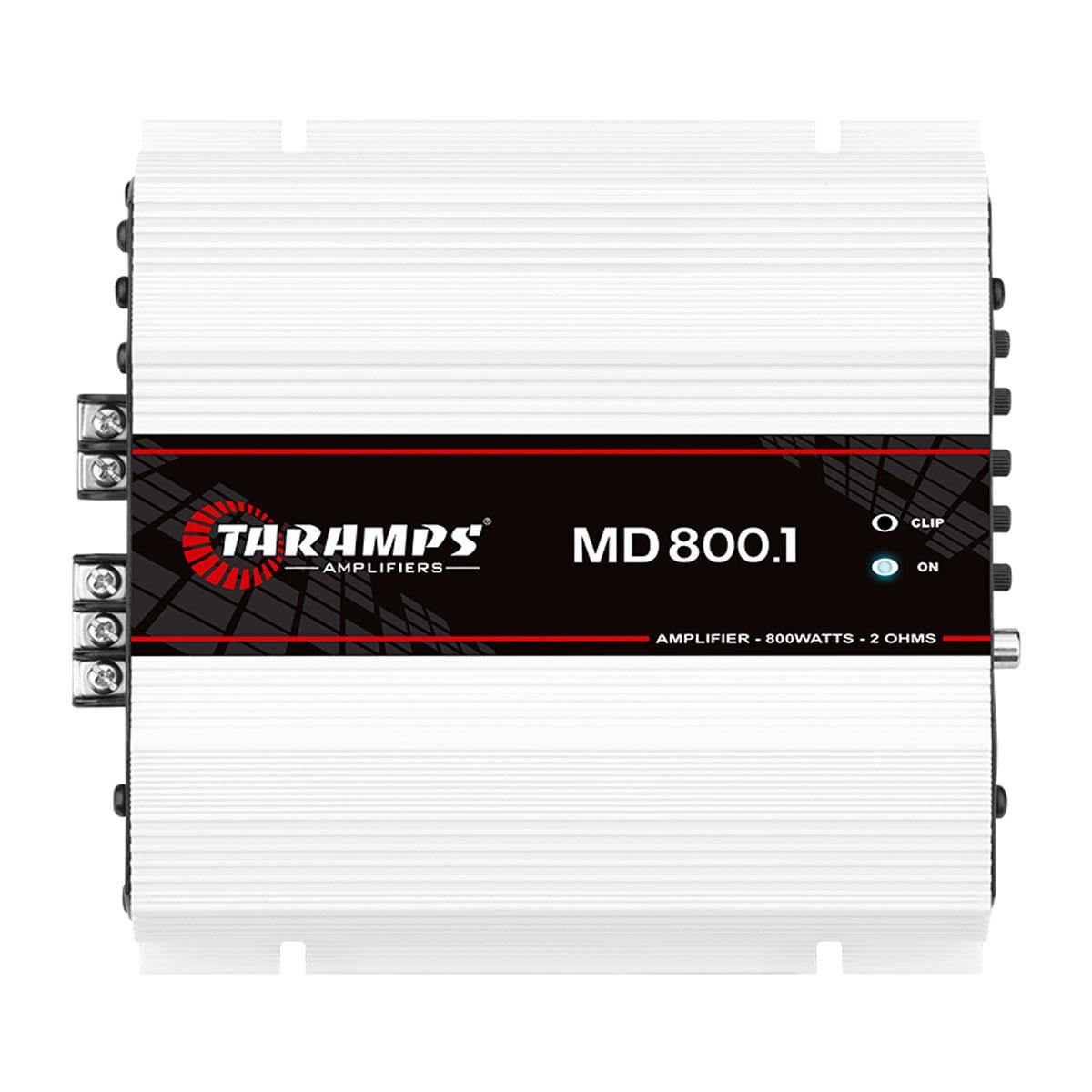Modulo Amplificador Taramps MD800.1 1 Canal de 800wrms 2Ohms