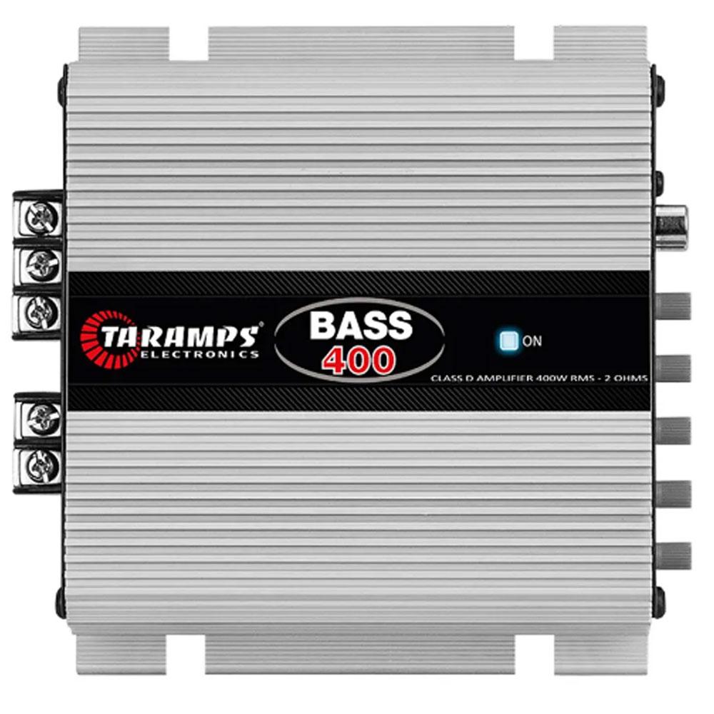 Módulo Amplificador Taramps T400 BASS 400Wrms Digital 1 Canal
