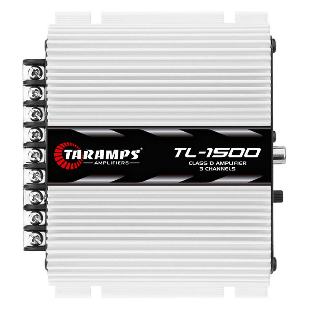 Módulo Amplificador Taramps TL1500 390 Wrms 3 Canais 2 Ohms
