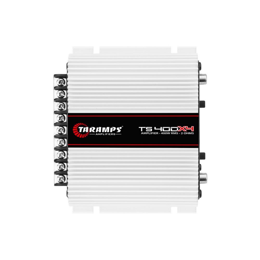 Módulo Amplificador Taramps TS400x4 400 Wrms 4 Canais - 2 Ohms