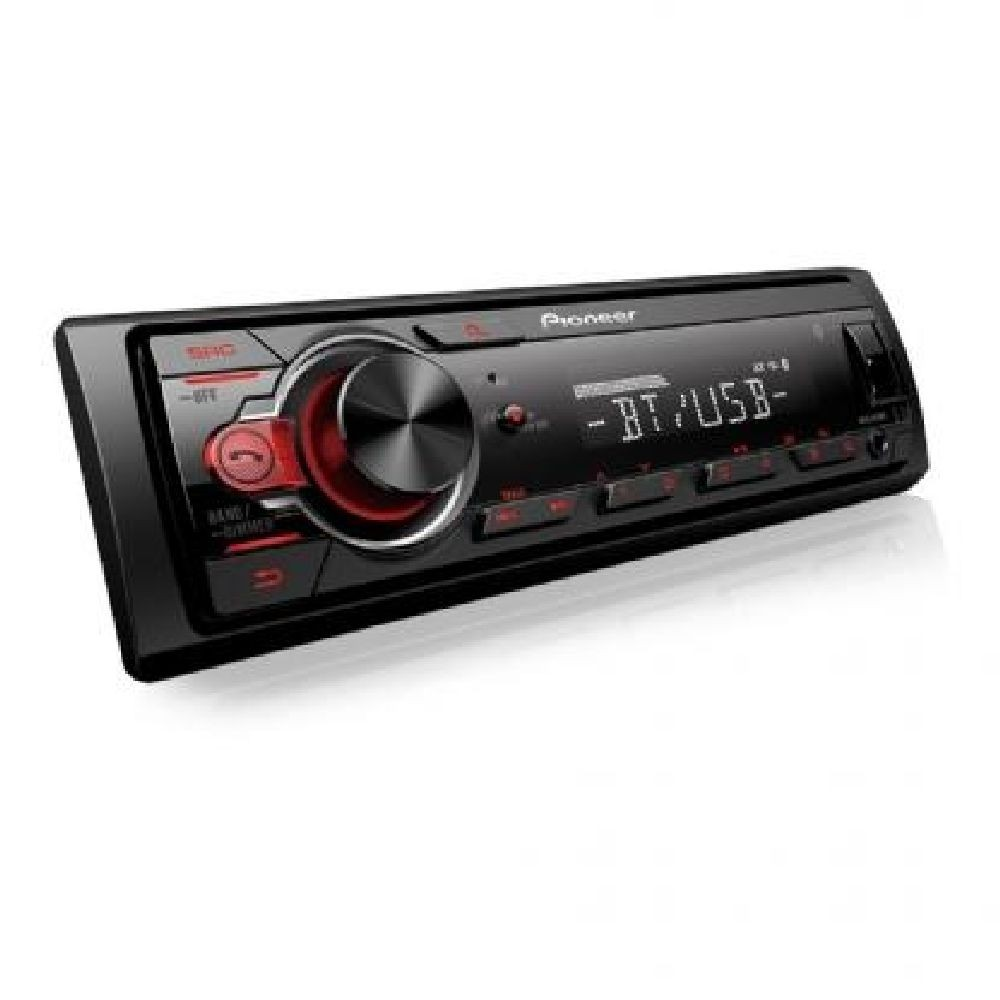 MP3 Player MVH-S218BT Pioneer Bluetooth, USB, Auxiliar Preto