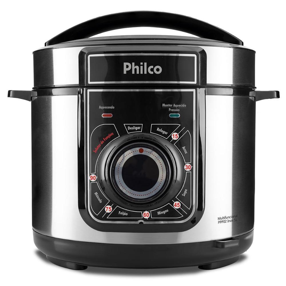 Panela de Pressão Multifuncional Philco PPP02 127V Inox