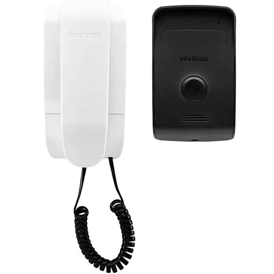 Porteiro Residencial Interfone IPR1010 Intelbras Preto/Branco