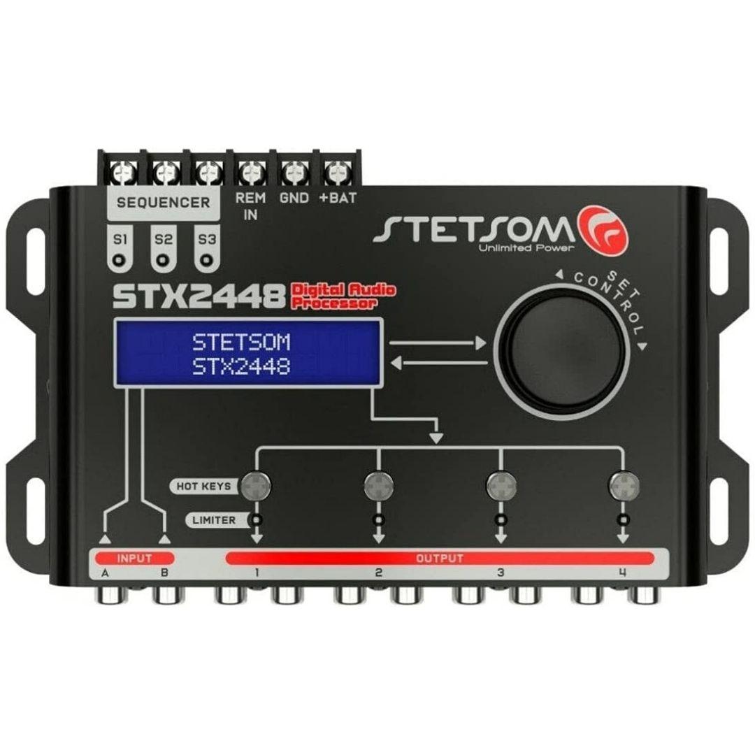 Processador De Áudio Com Sequenciador STX2448 - Stetsom