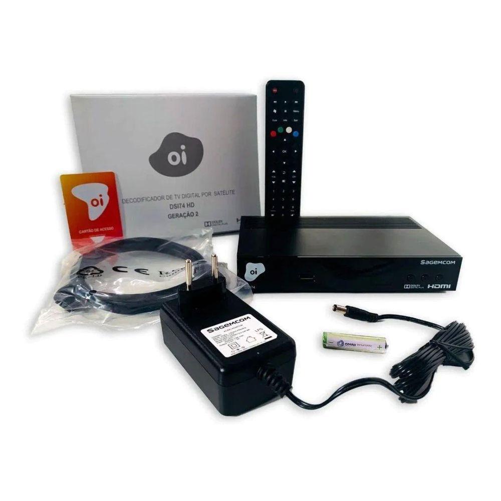 Receptor Digital Oi Tv Livre Hd DSI74