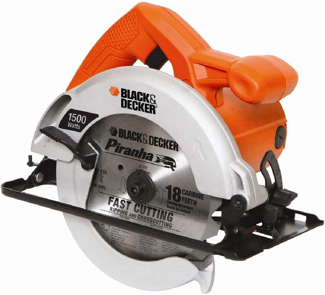 Serra Circular 7 1/4'' Black Decker 1.500 W CS1024 - 110V/220V