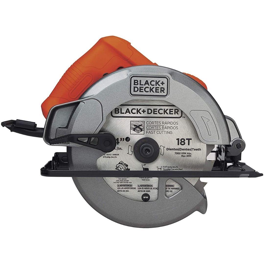 Serra Circular Elétrica Black Decker CS1004 1400W 110V / 220V