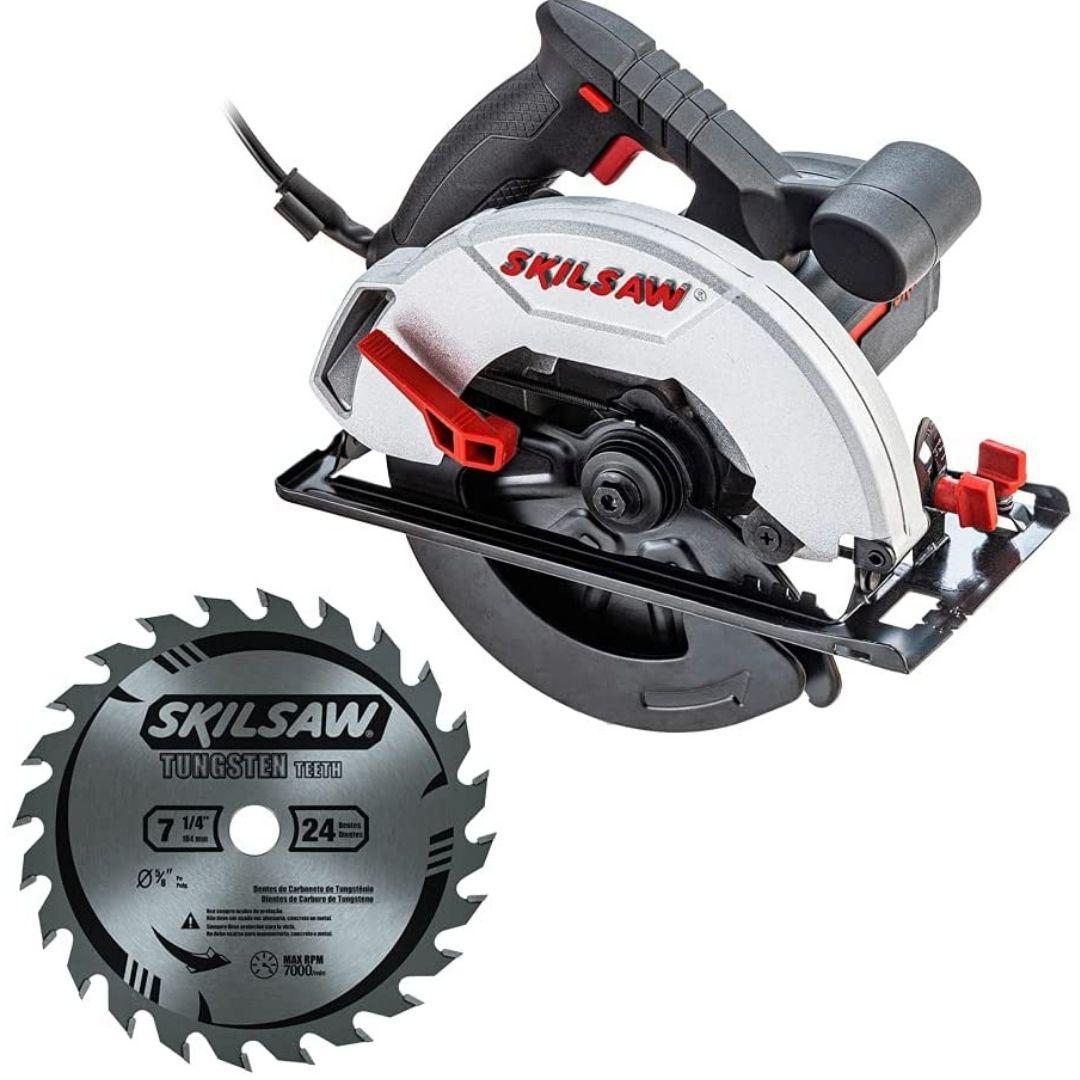 Serra Circular Skil 5200 1200W Com 1 Disco De 24 Dentes 220V