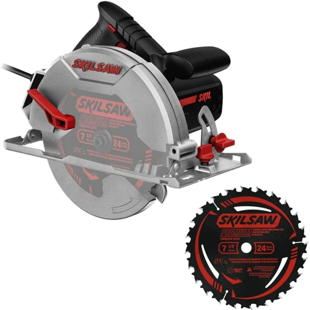Serra Circular Skil 5402 1400W Com Disco De 24 Dentes 127V / 220V