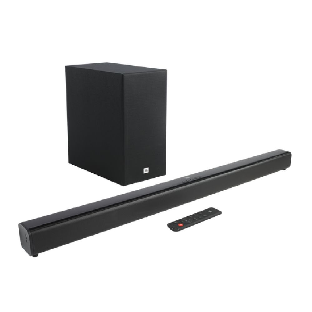 Soundbar JBL Cinema SB160 com 2.1 Canais, Bluetooth e Subwoofer Sem Fio - 110W