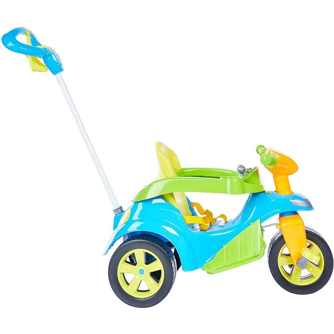Veiculo Para Bebe Biemme Baby Trike Evolution Azul