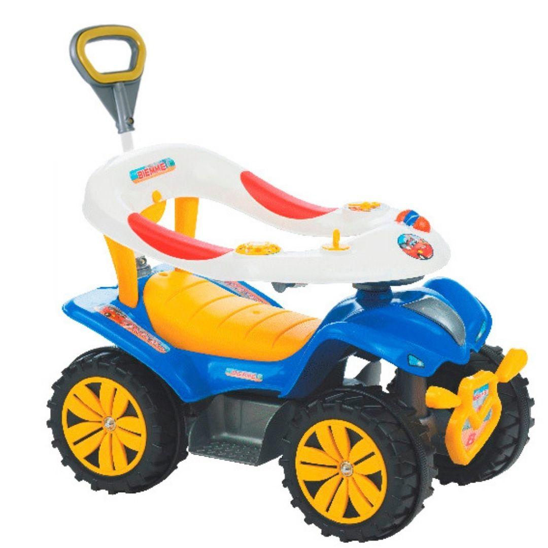 Veiculo para Bebe Dudu Style Car Articulado Biemme Multicor