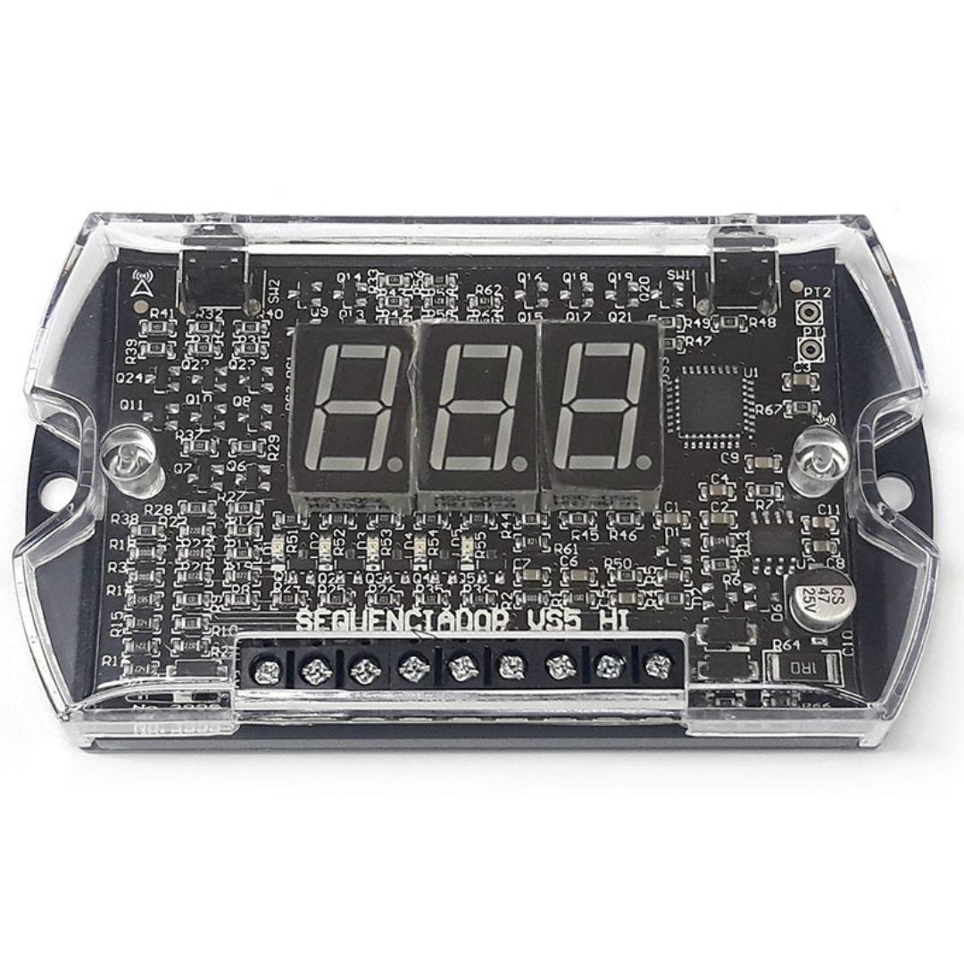 Voltímetro e Sequenciador JFA VS5HI