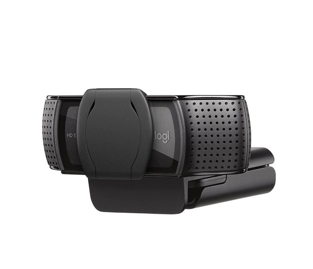 Webcam Logitech Full HD 1080p C920s Com Tampa De Privacidade