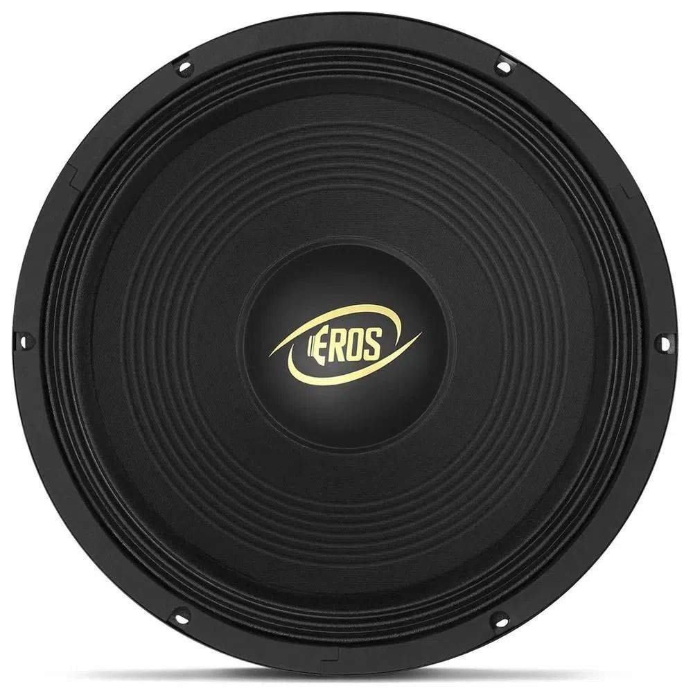 Woofer Eros 12 Polegadas E-450LC Black 450 WRMS - 4 Ohms