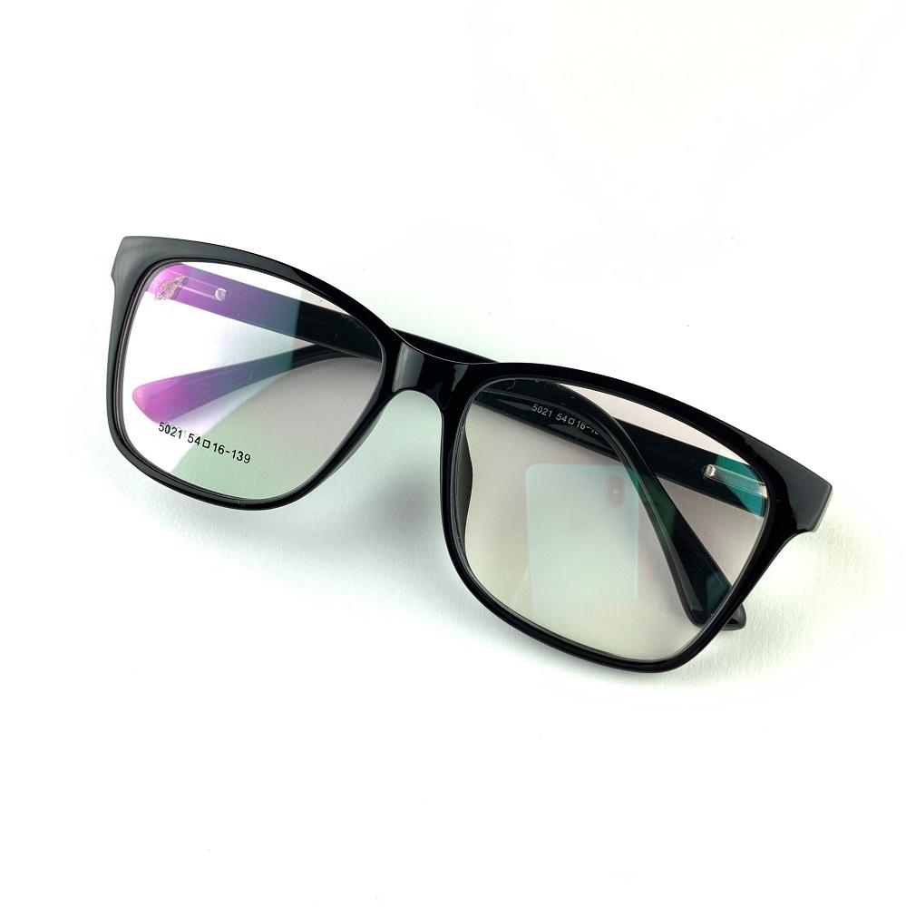 Armação para óculos de grau masculina quadrada