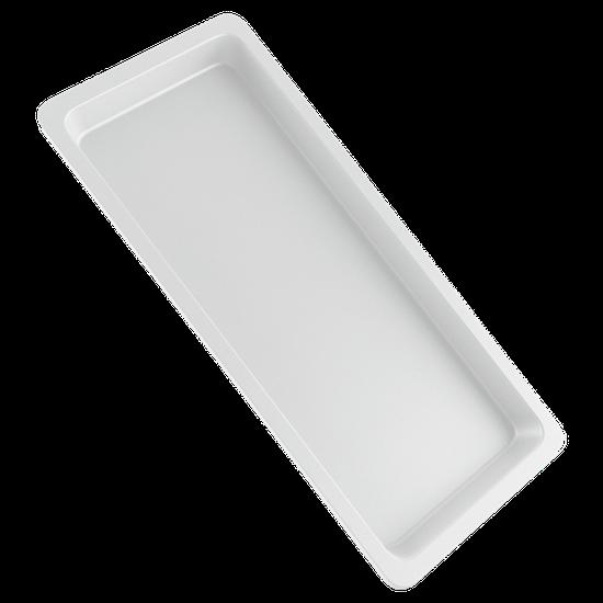 Bandeja p/ Esterilização de Instrumentos Pequena - Branca