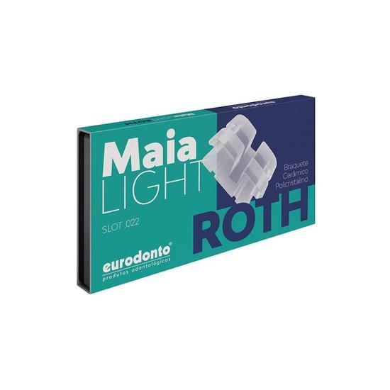 Bráquete Cerâmico Maia Light Roth 022 Kit - Eurodonto