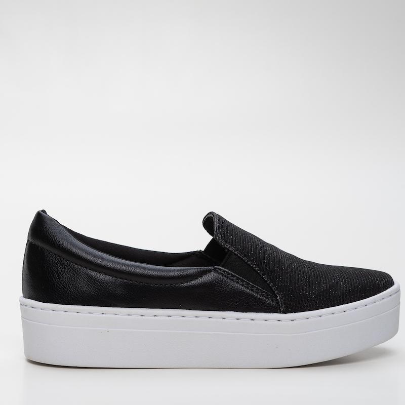 Slip-on  Black Glitter