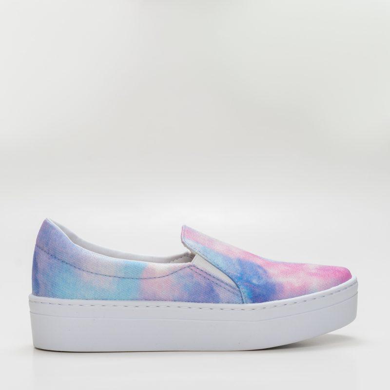 Slip-on Tie Dye