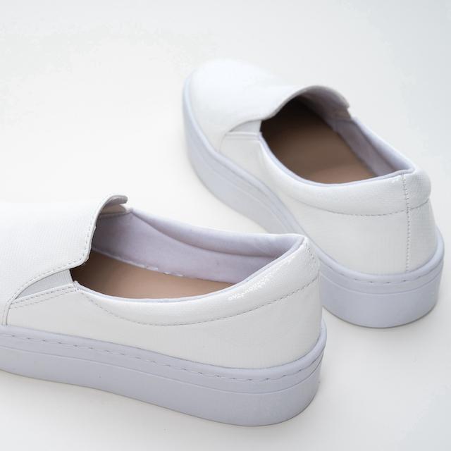 Slip-on  White