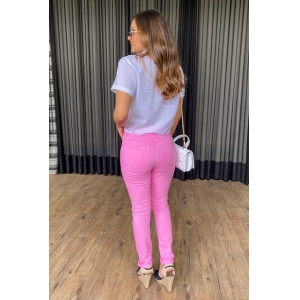 Calça Skinny - Rosa