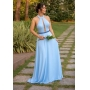 Vestido Asti - Azul
