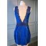Vestido Bandung - Azul Bic