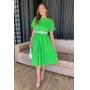 Vestido Beatriz - Verde Limão