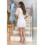 Vestido Corselet Renda - Off White