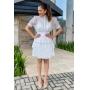 Vestido Curto Marcela - Off White