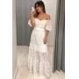 Vestido de Renda - Off White
