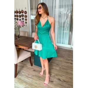 Vestido Frente Unica - Verde