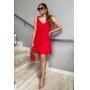 Vestido Laço  Vermelho