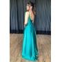 Vestido Larissa - Verde Bandeira