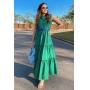 Vestido Longo Verde sem mangas