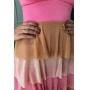 Vestido Lurex - Tricolor