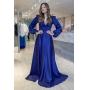 Vestido madrinha de casamento Azul Marinho. Para casamento noturno e diurno, no campo ou na praia.