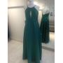Vestido madrinha de casamento Verde Tiffany. Para casamento noturno.