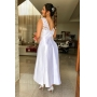 Vestido Midi Clara - Branco