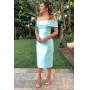 Vestido Nicolle - Verde Tiffany