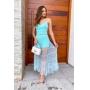 Vestido Tule - Azul