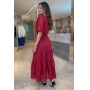 Vestido Turmalina Vermelho