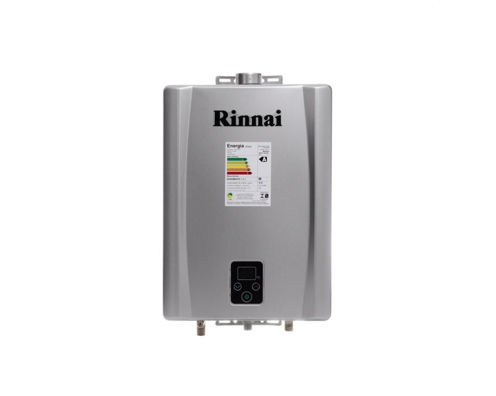 Aquecedor a Gás E17 Prata - Rinnai - 17 litros