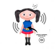 Boneca Luna que fala 40 cm - Estrela