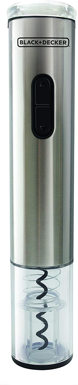 Abridor de Vinho WINE INOX a Pilha  Black+Decker