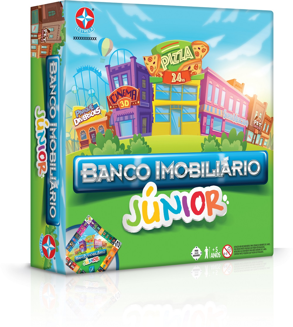Banco Imobiliario Jr Estrela